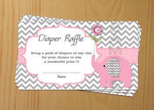 Baby Shower Diaper Raffle Poems Sayings