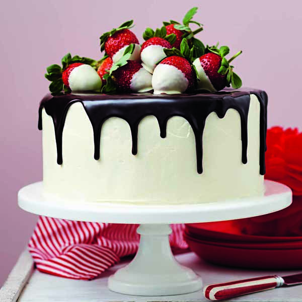 Chocolate drip cake - For all your cake decorating supplies, please visit craftcompany.co.uk