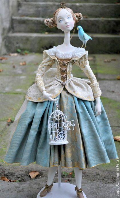 """Авторская кукла """"Мечты о Синей птице"""". Handmade."""