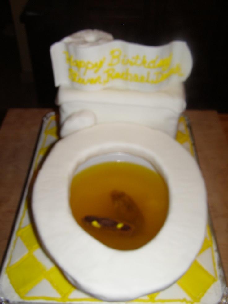 Toilet Kake