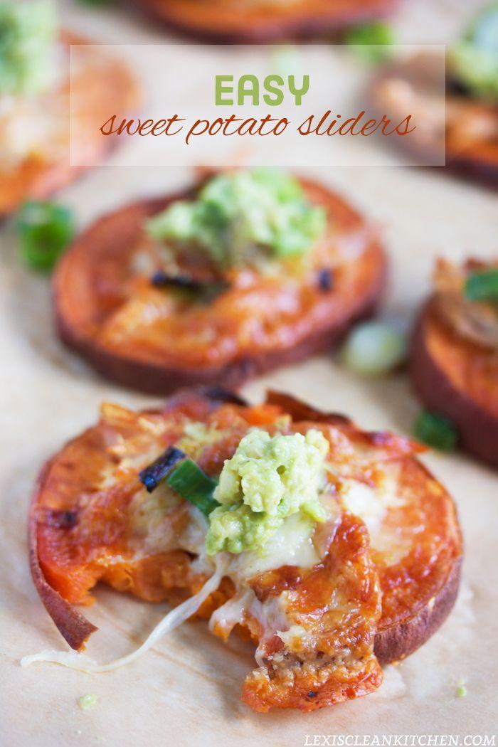 Sweet Potato Sliders   #LexisCleanKitchen