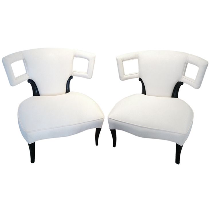 funky house furniture. a pair of sculptural grosfeld house side chairs funky furniture