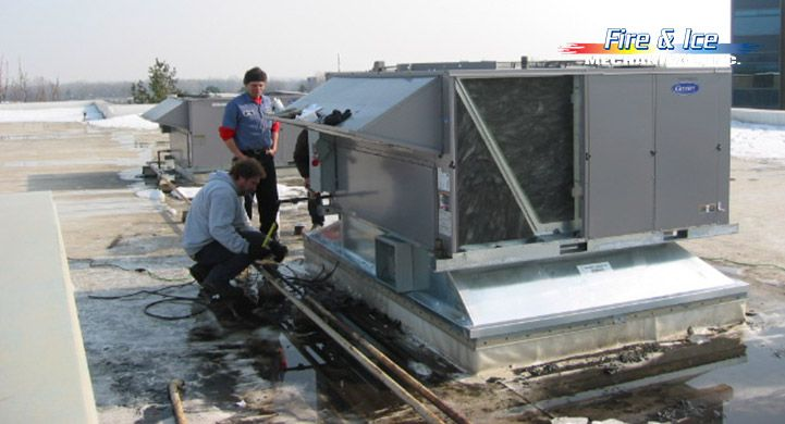 Fire Ice Mechanical Is The Reliable Service And Repair Provider Of Heating And Cooling System In Sterli Industrial Heating Heating And Cooling Madison Heights