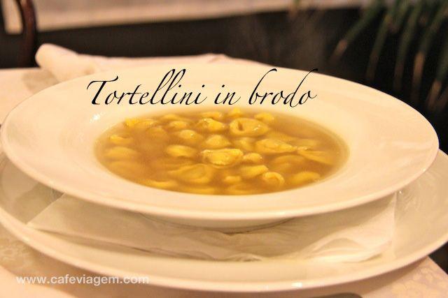 """Idêntico a sopa de capelletti no Brasil - """"O que comer em Emilia Romagna: pratos típicos"""" by @Alexandra Aranovich"""