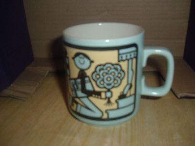 Hornsea Pottery, Worlds Best Boyfriend, Mug, John Clappison. (10/02/2013)