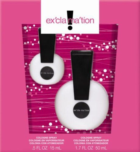 exclamation perfume. my sister used to wear this back in the day.
