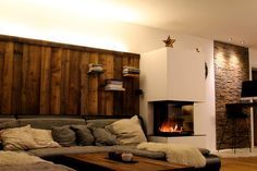 Altholz rustikal Wohnzimmer