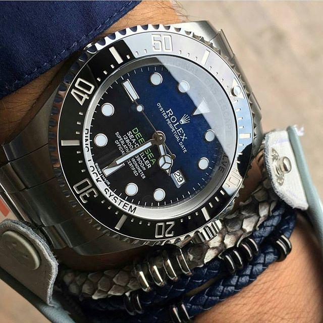 Rolex DeepSea cc: @luxuriousballer ⌚ #Thewatchesarmy