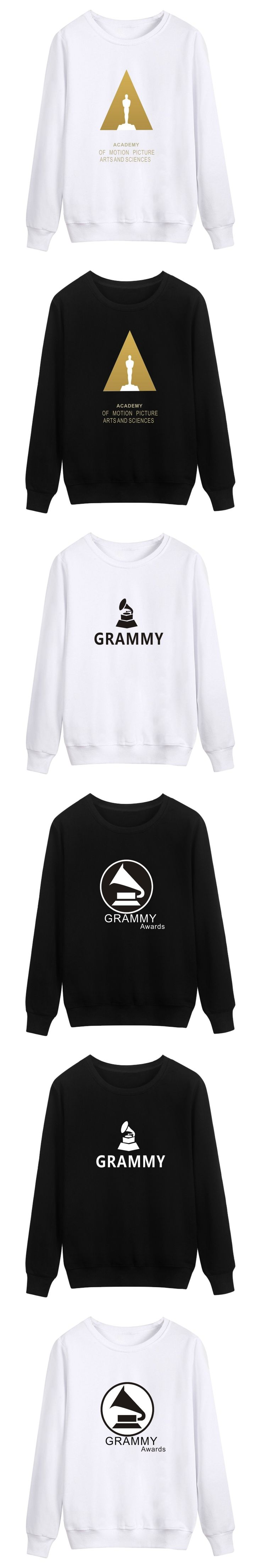 Grammy Awards Capless Hoodies Men Hip Hop World's Largest Music Awards Autumn Mens Hoodies and Sweatshirts Winter Funny Clothes