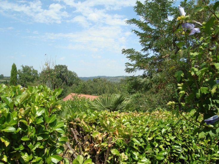 Wat een uitzicht! www.vakantiewoninginfrankrijk.com