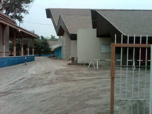 """Abu Kelud"", Gereja Maria Assumpta Klaten 14 Februari 2014"