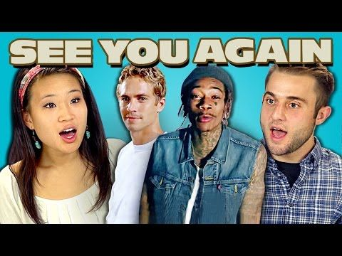TEENS REACT TO SEE YOU AGAIN - YouTube