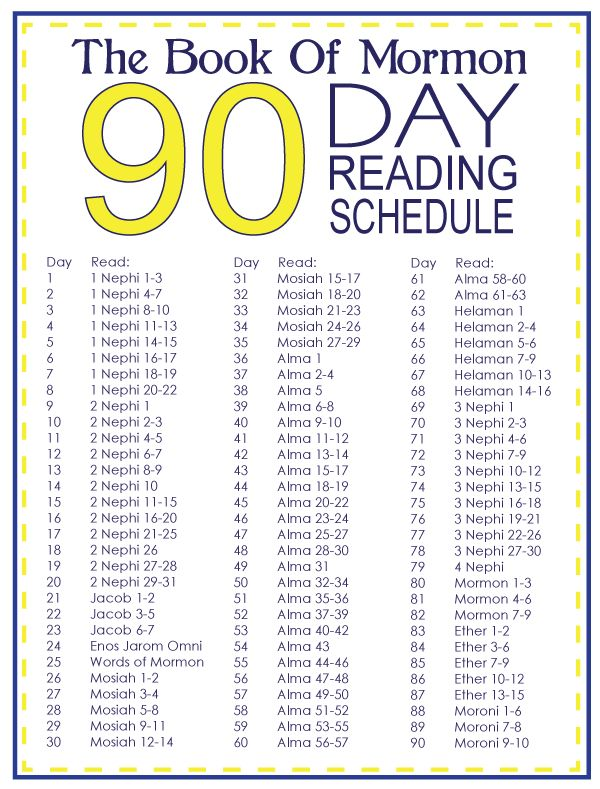 Book Of Mormon 90 Day Reading Schedule Photo:  This Photo was uploaded by july4girl. Find other Book Of Mormon 90 Day Reading Schedule pictures and photo...