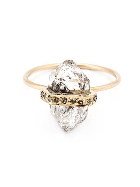 Mathilde Danglade herkimer diamond ring