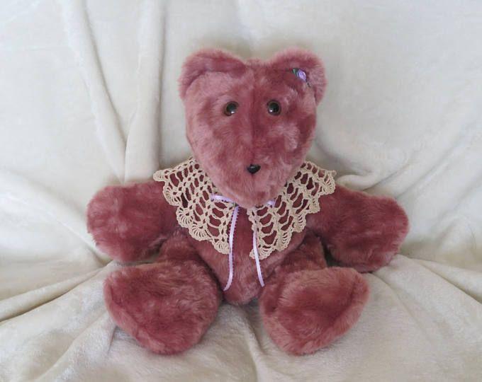 Teddy Bear Stuffed Animal Bear Girl Baby Gift Girl Baby Shower Gift