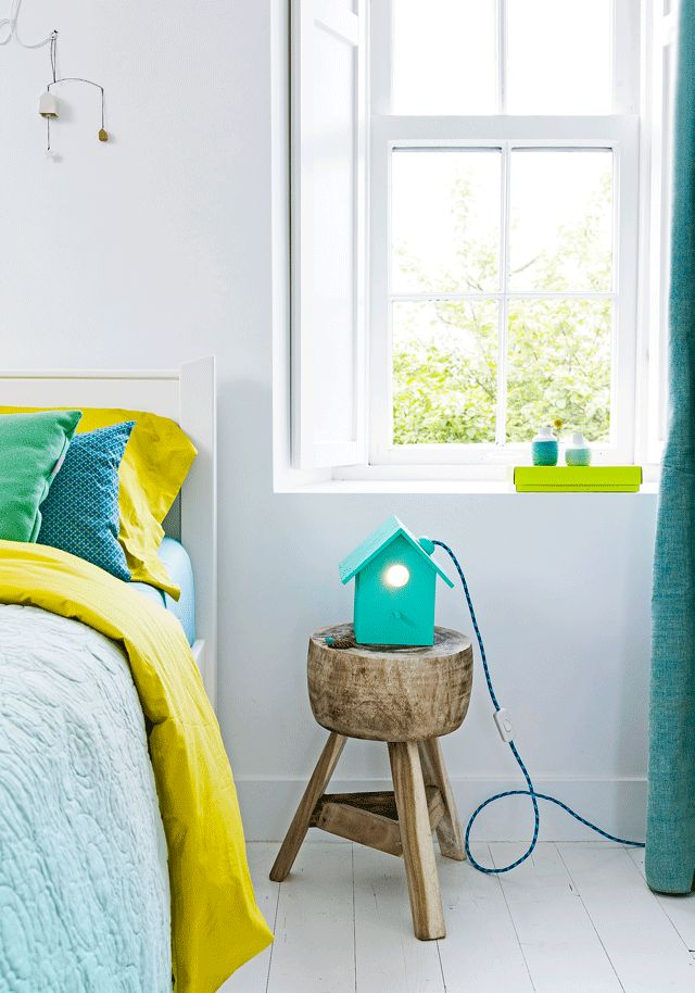 Huiselijk lampje - Home lamp Kijk op www.101woonideeen.nl #tutorial #howto #diy #101woonideeen #huiselijk #home #lamp #lampshade