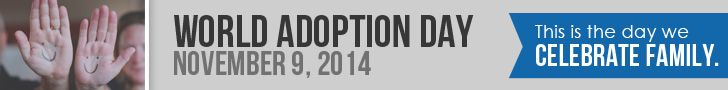 Celebrate Families with World Adoption Day
