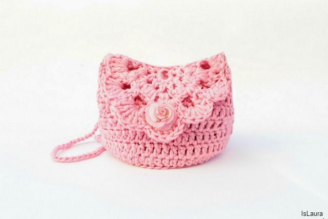 How to make a little bag to crochet
