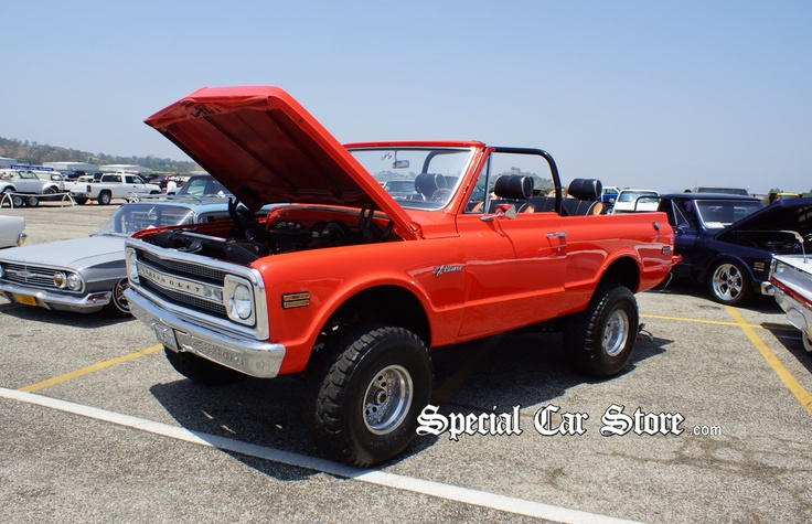 West Houston Vw >> 1970 Chevrolet K5 Blazer 4X4 Convertible - Pomona Swap Meet 2012. Gallery: http ...