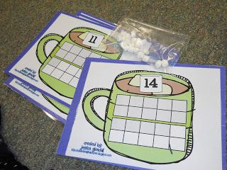 Krazy in Kindergarten: Winter Math Centers