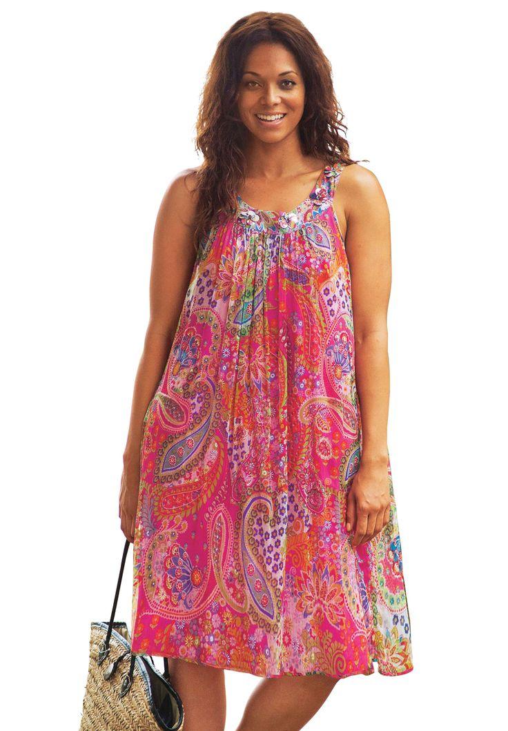 10 best Moda Plus Size -Dress images on Pinterest   Tied up, Plus ...