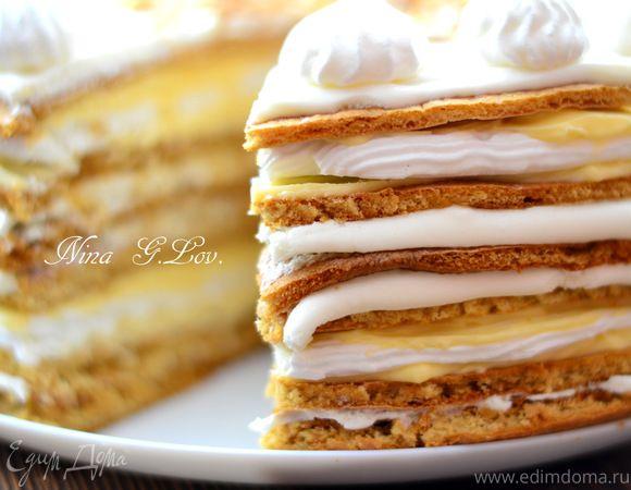 """Медовый торт """"Полет шмеля"""" (на мед), или """"Мое сладкое утро"""""""