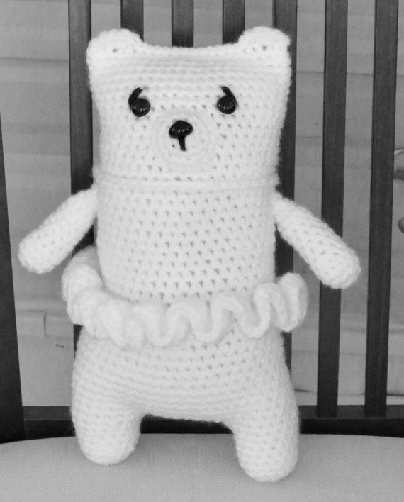 Snuggle Teddy Bear with Tutu  Teddy Bear by TheBabyCrowTwo on Etsy