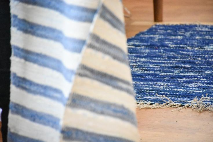 Swedish vintage rag rug 0810 - Rugs of Sweden