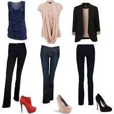 Resultado de imagen para ropa para mujeres de cuerpo rectangular
