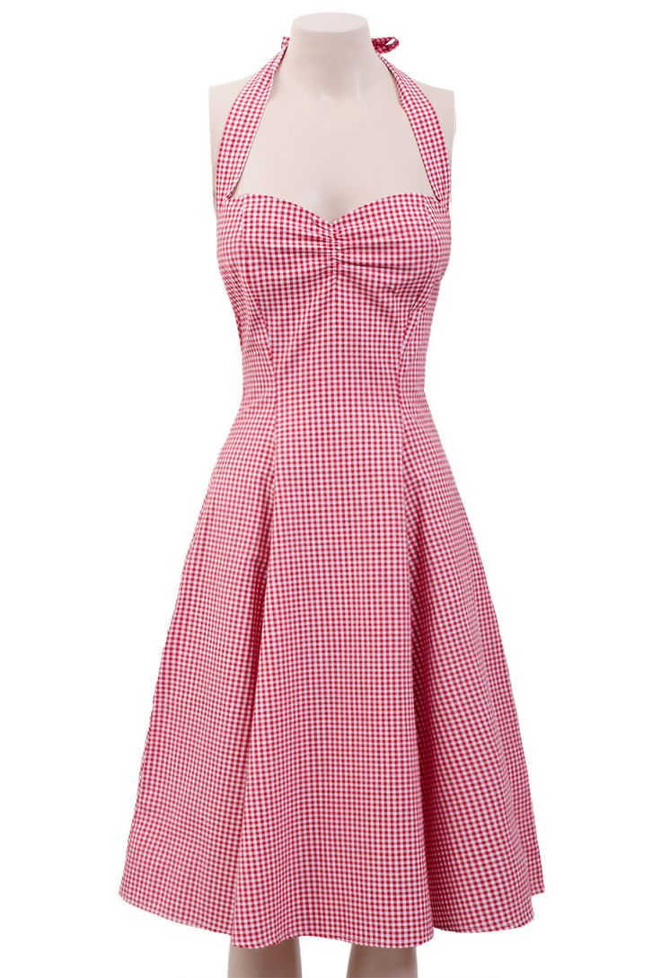 Sweetie Dress - Red Gingham - Pretty Dress Clothing Store
