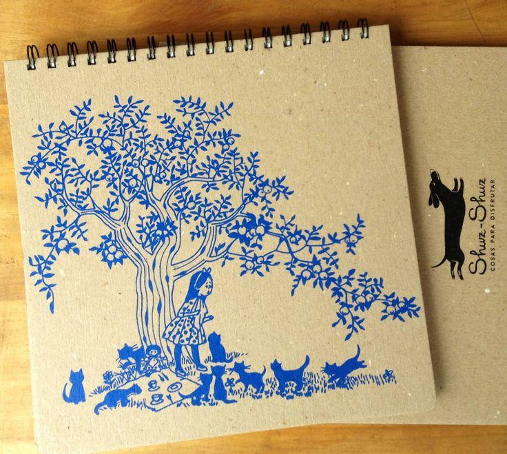 Libretas diseñadas por Shuz-Shuz.