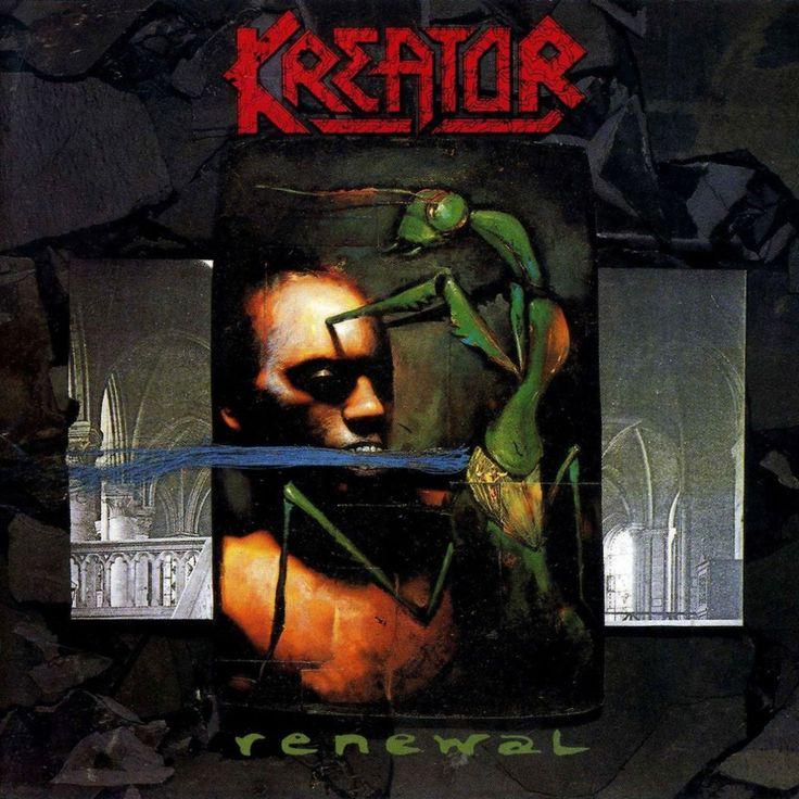 Kreator Renewal 1992 Metal Album Covers Pinterest