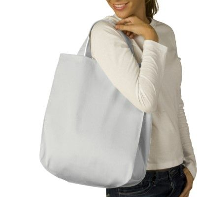 Custom Embroidered Bags you design online - Organic tote Zazzle.ca