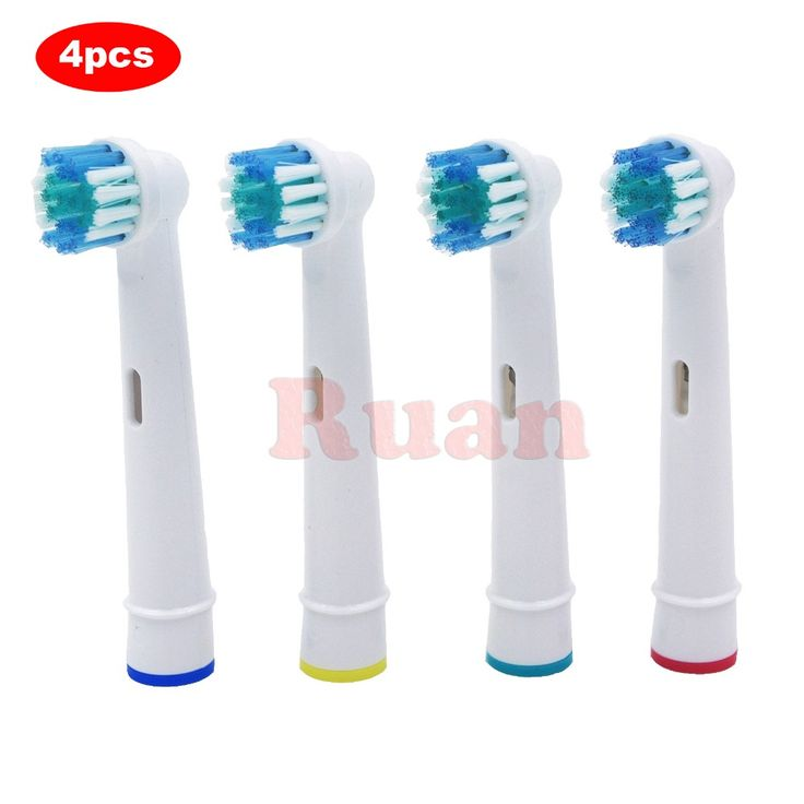 4pcs Replacement Brush Heads For Oral-B Electric Toothbrush for Braun Professional Care/Professional Care SmartSeries/TriZone  Price: 2.20 USD