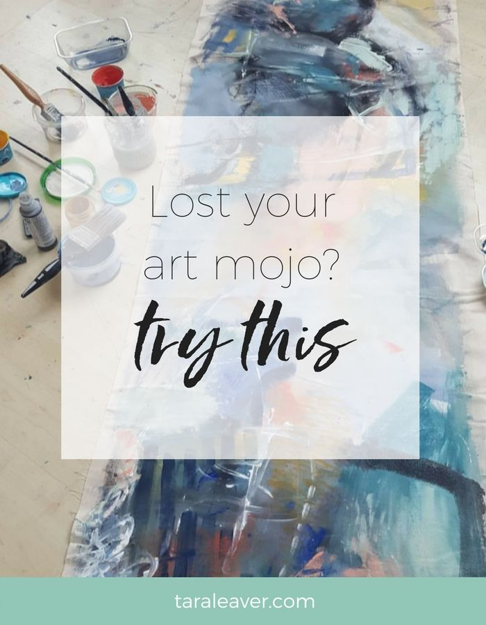 Lost your art mojo? Try this