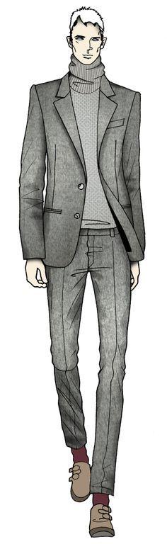 fashion drawing man - Google Search