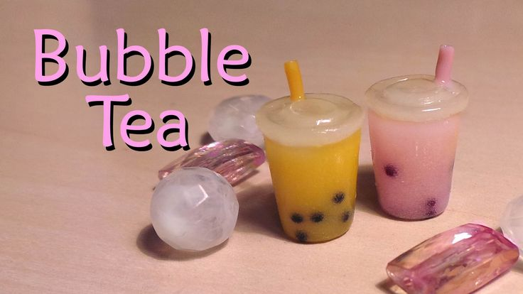 Easy Polymer Clay Tutorial; Bubble / Boba Tea Charm