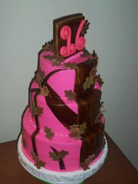 Pink Camo Cake Party Ideas Pinterest A Deer The O