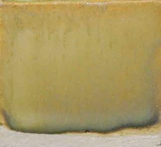 Matt Yellow C/6          Strontium Carb (Toxic)0.1579    Whiting0.1053    Zinc Oxide0.1053    Minspar (f-4)0.5262    Tenn Ball Clay0.1053    Rutile0.03    Nickel Oxide0.015