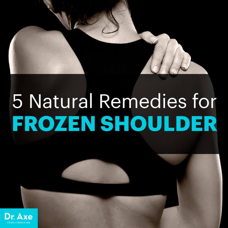 frozen shoulder - dr. axe http://www.draxe.com #health #holistic #natural