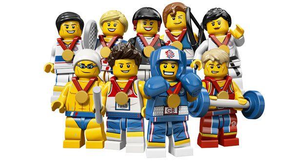 Lego's Team GB an Olympic hit