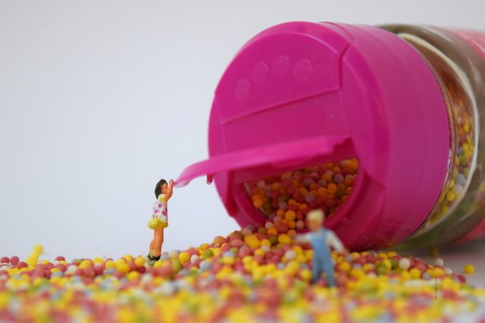 Sprinkles by Aica Garcia @microminiworld