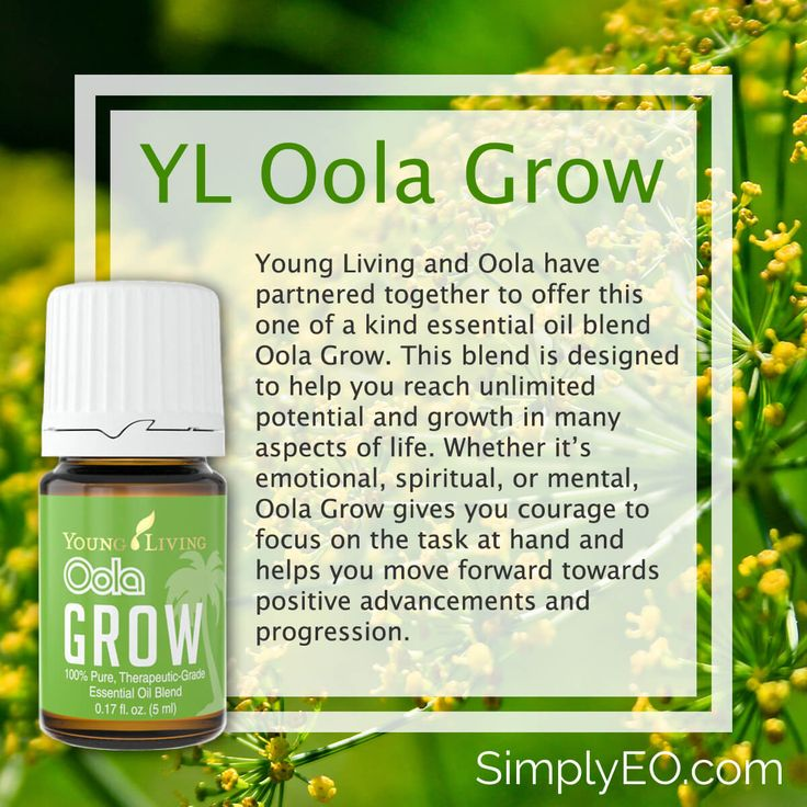 Oola Grow Essential Oil by Young Living