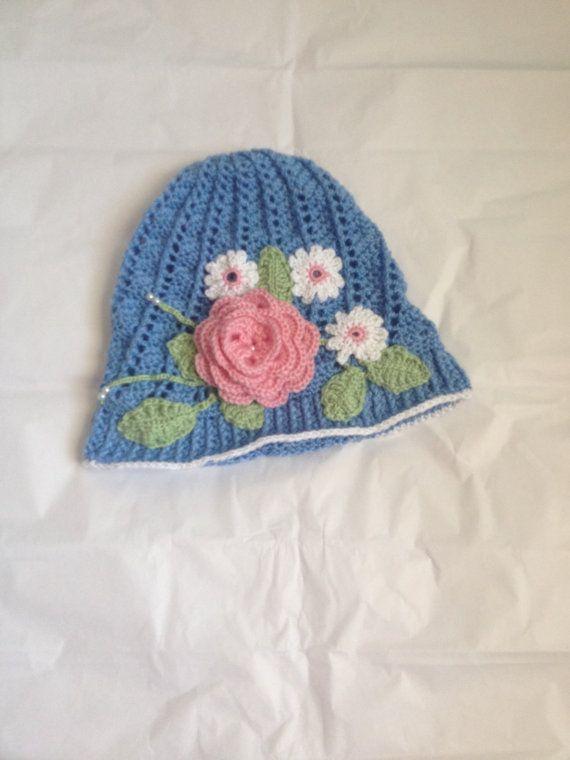 Crochet panama hat crochet clouche hat by LoopsyDaisyDesigns