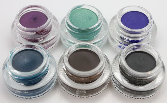 Makeup Geek Gel Liners  Available at www.makeupgeek.com/store
