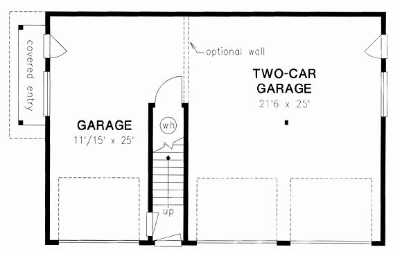 Free Garage Plans Pdf Lovely Traditional Style 3 Car Garage Apartment Plan Number With 2 Bed 2 Bath