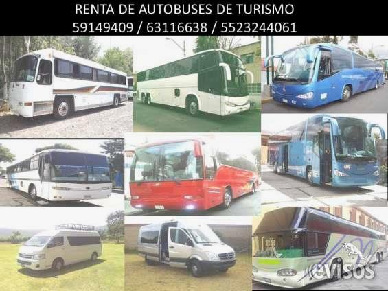 Renta de Autobuses y Camionetas de Turismo  A toda la Republica, Organización de sus salidas, reserva de hoteles en Acapulco, Veracruz, ...  http://benito-juarez.evisos.com.mx/renta-de-autobuses-y-camionetas-de-turismo-id-601805