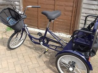 Trikidoo tricycle bike for sale. Great for twins/kids school run Cottingham Picture 1