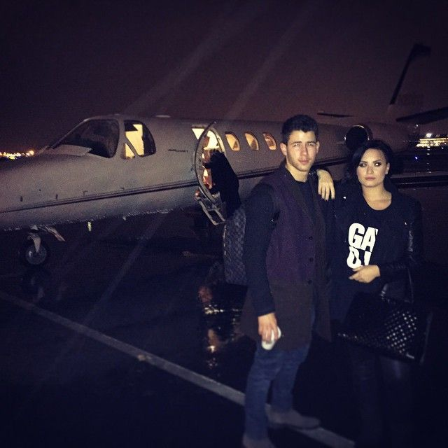 Pin for Later: 8 Years of Demi Lovato and Nick Jonas's Unbreakable Friendship in Pictures 2014