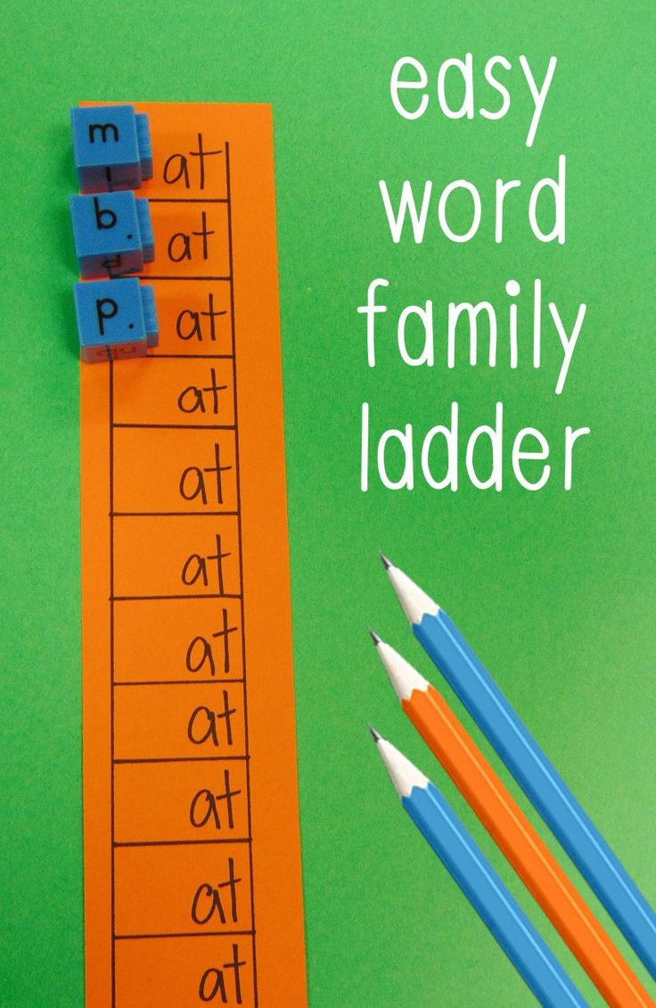Word Family Activity - The Relaxed Homeschool